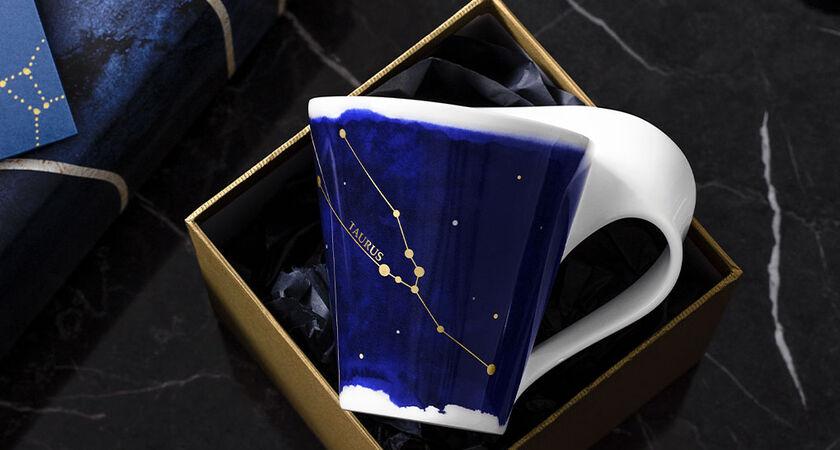 Tasse avec étoile