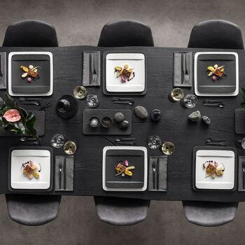 Manufacture Rock Diner Set, vierkante