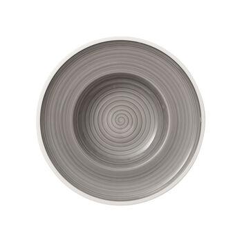 Manufacture gris Assiette creuse 25cm