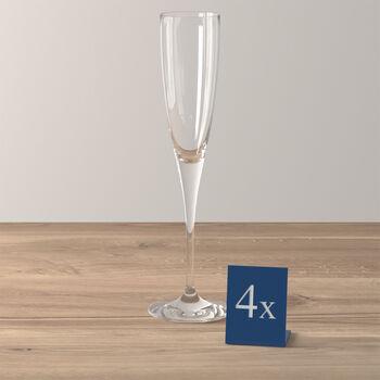 Maxima champagneglas, 4 stuks