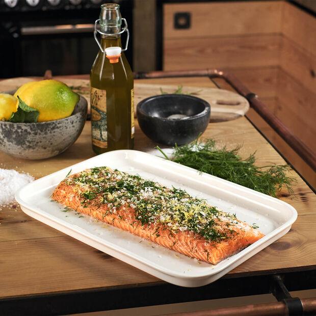 Clever Cooking Serveerschaal / Deksel rechthoekig 32x22cm, , large