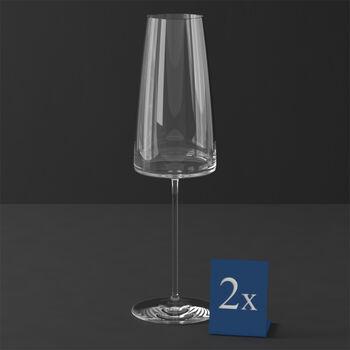 MetroChic champagneglas, 2 stuks, 450 ml