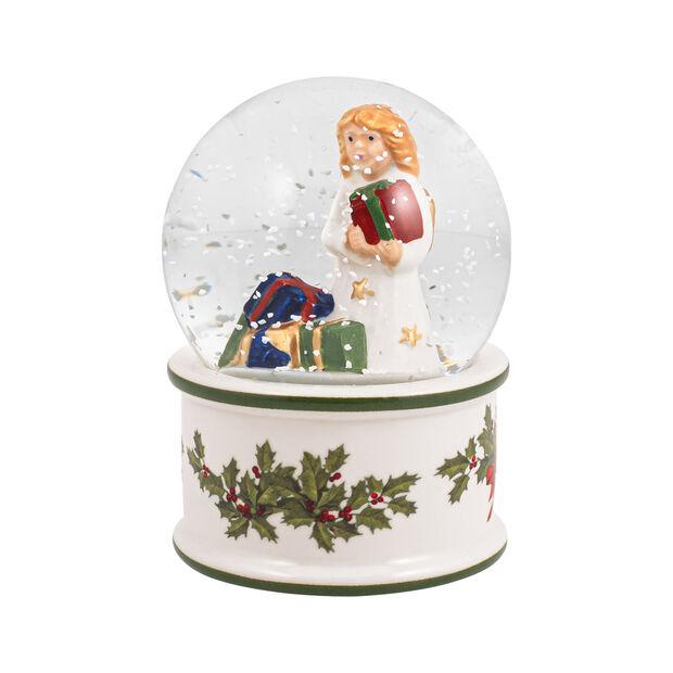 Christmas Toys kleine sneeuwbol kerstkind, 6,5 x 6,5 x 9 cm, , large