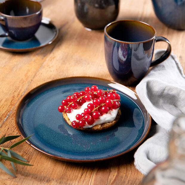 Crafted Denim assiette à dessert, bleu, 21cm, , large
