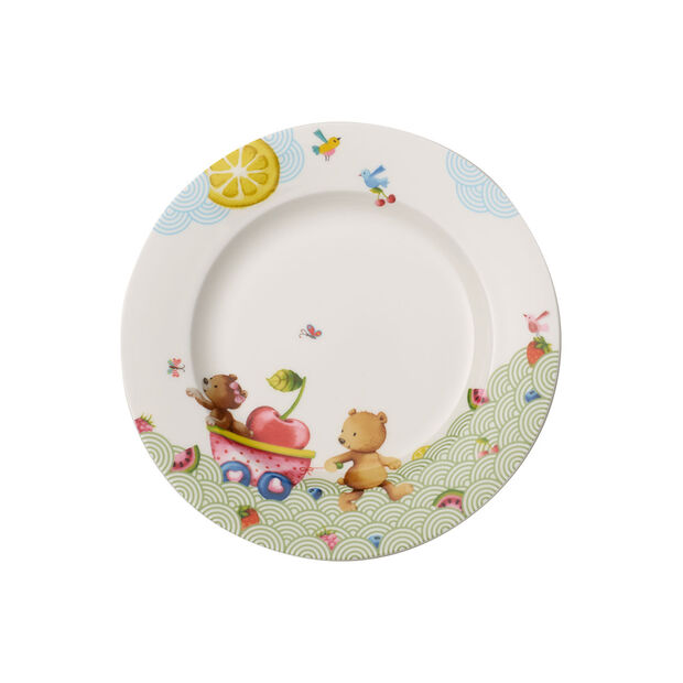 Hungry as a Bear Dinerbord voor kinderen 220x220x26mm, , large