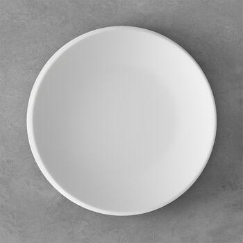 NewMoon eetbord, 27 cm, wit