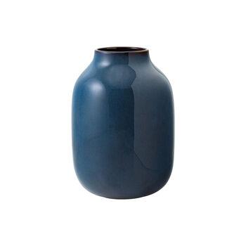Lave Home vaas Shoulder, 15,5x15,5x22cm, effenblauw
