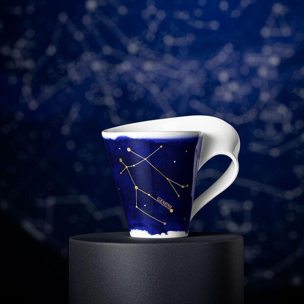 NewWave Stars mug gémeaux, 300ml, bleu/blanc, , large