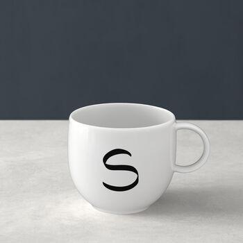 Mug Letters S 13x10x8cm