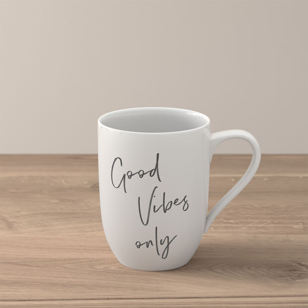 """Statement beker """"Good Vibes only"""", , large"""