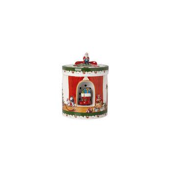 Christmas Toys Giftbox groot rond, 2021 17x17x22 cm