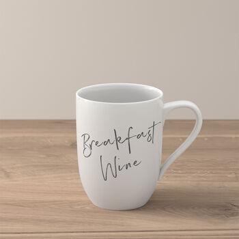 """Statement beker """"Breakfast Wine"""""""