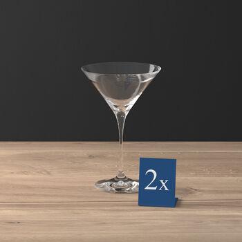Purismo Bar cocktail-/martiniglas set van 2