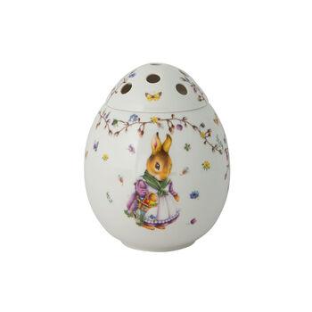 Spring Fantasy Vase œuf, Emma et Paul 17,5x17,5x21cm