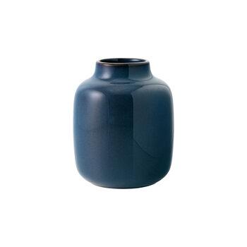 Lave Home vaas Shoulder, 12,5x12,5x15,5cm, effenblauw