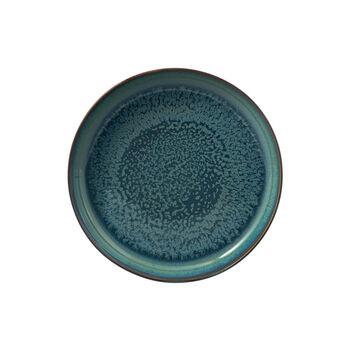 Crafted Breeze assiette creuse, bleu-gris, 21,5cm
