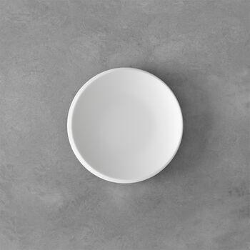 NewMoon broodbord, 16 cm, wit
