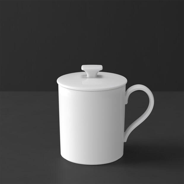 MetroChic blanc Gifts Beker deksel 11,5x8,5x11cm, , large
