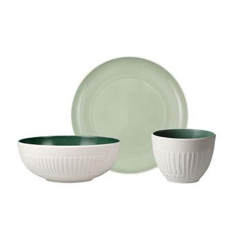 like.by Villeroy & Boch it's my match mineral Single Breakfast set, 3-dlg