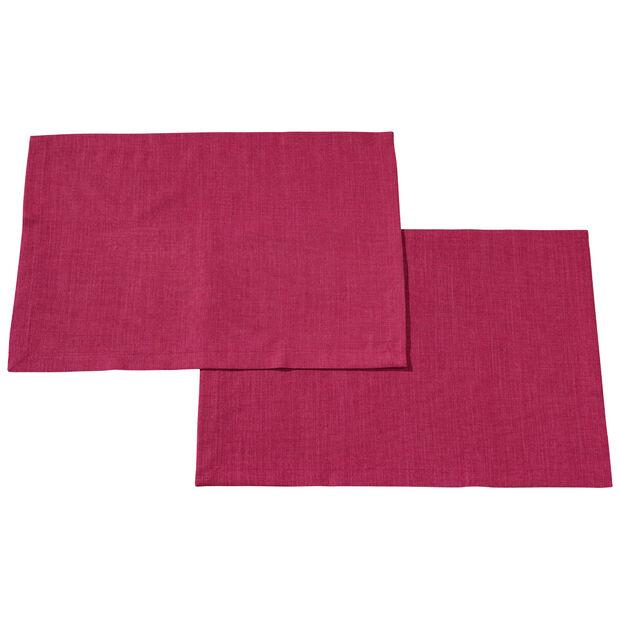 Textil Uni TREND Set de table Red Plum S2 35x50cm, , large