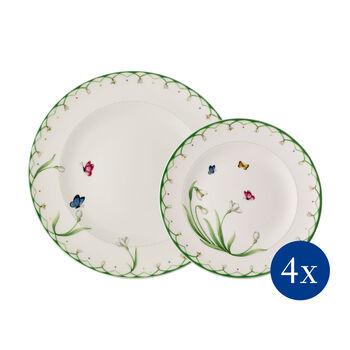 Colourful Spring borden-set, 8-delig, voor 4 personen