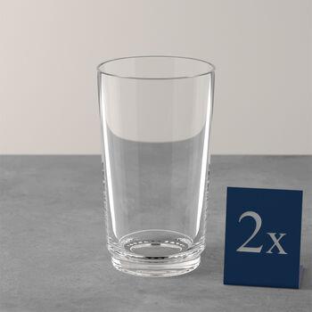 like.by Villeroy & Boch it's my match longdrink-set, helder, 8 x 14 cm, 2-delig