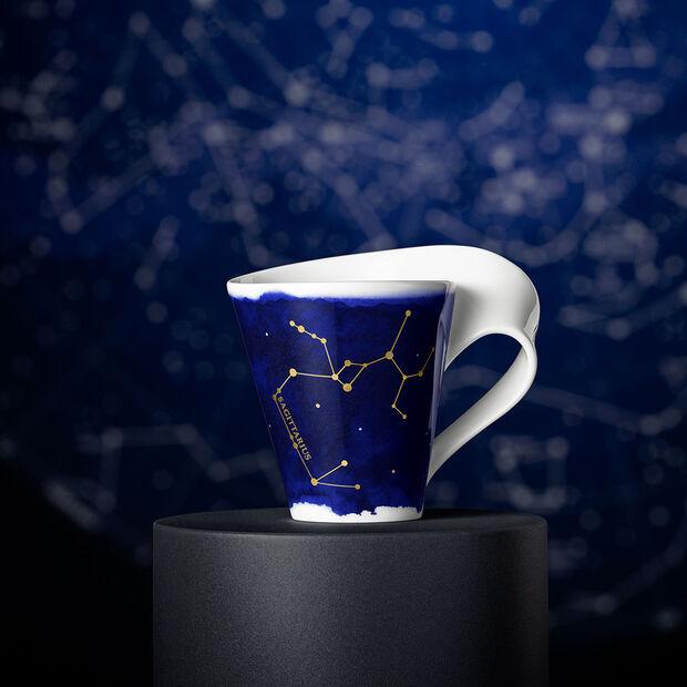 NewWave Stars beker Boogschutter, 300 ml, blauw/wit, , large