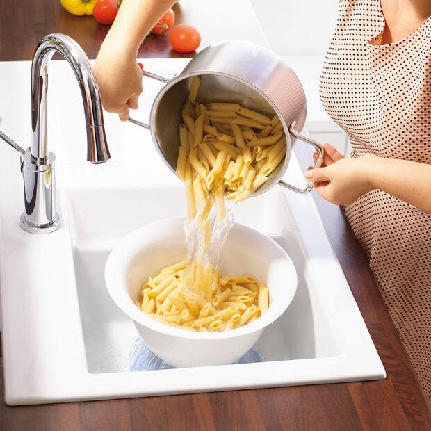 Clever Cooking blauwe zeef-/serveerschaal, , large