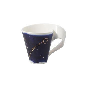 NewWave Stars beker Vissen, 300 ml, blauw/wit