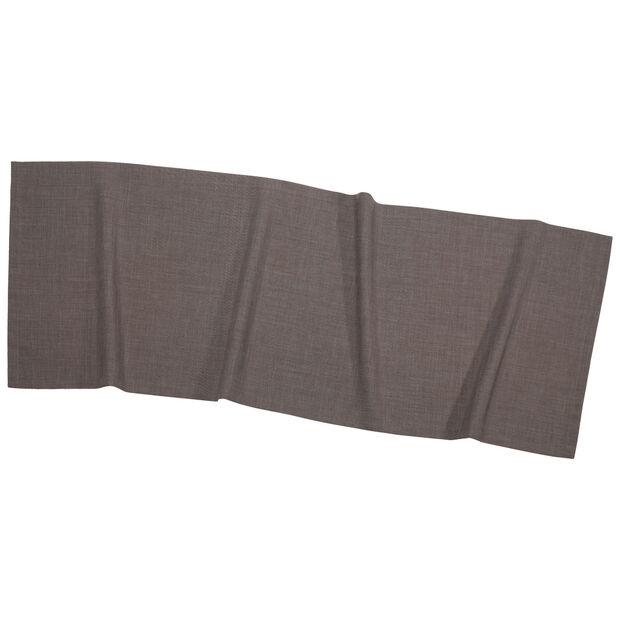Textil Uni TREND Chemin de table graphite 50x140cm, , large