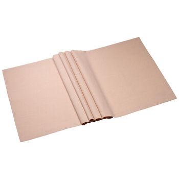 Textil Uni TREND Chemin de table rose peony 75 50x140cm