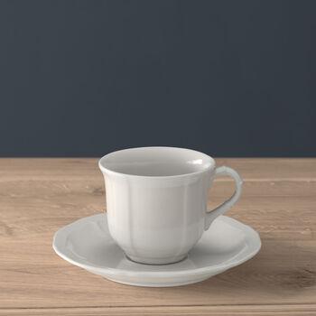 Manoir Tasse à café avec soucoupe 2pcs