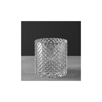 Pieces of Jewellery Vase/photophore 180mm