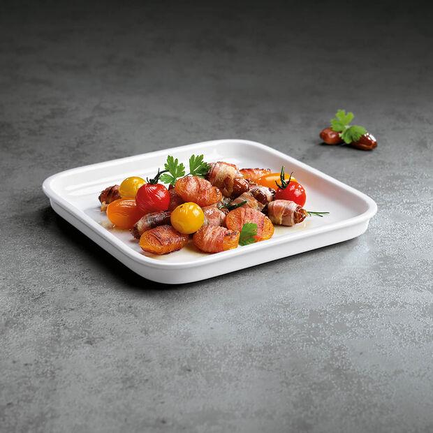 Clever Cooking vierkante serveerschaal 22 x 22 cm, , large