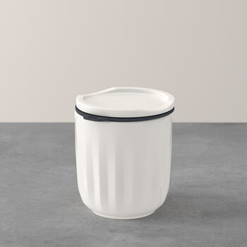 To Go & To Stay mug, avec couvercle, 300ml, blanc
