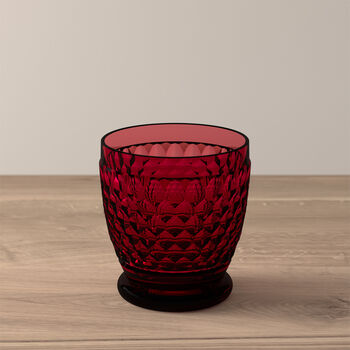 Boston Coloured water-/cocktailglas red