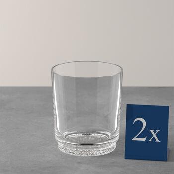 like.by Villeroy & Boch it's my match waterglas-set, helder, 9 x 10 cm, 2-delig