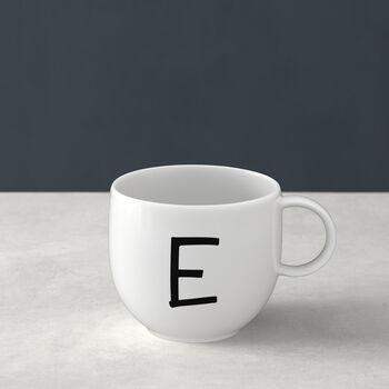 Mug Letters E 13x10x8cm