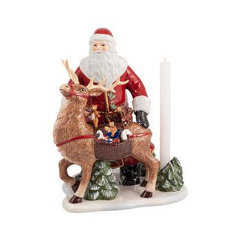 Christmas Toys Memory Kerstman met hert, 30 x 24 x 35 cm