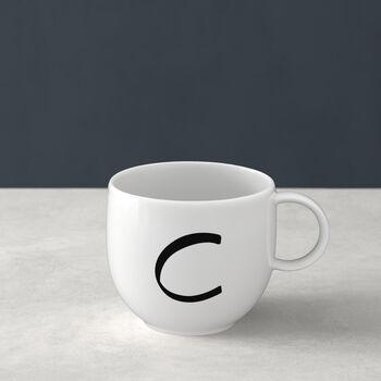 Mug Letters C 13x10x8cm