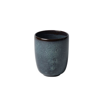 Lave gris beker zonder oor 9x9x10,5cm