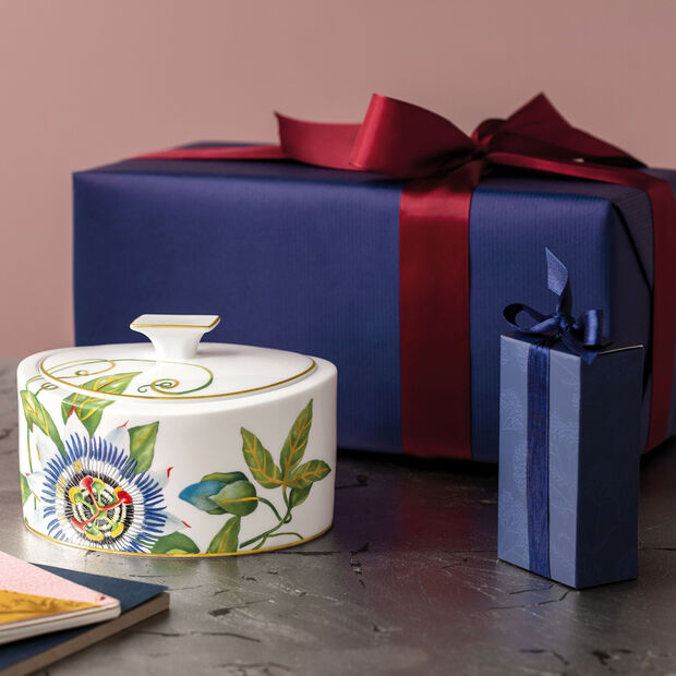 Amazonia Gifts Porseleinen doosje 16x13x10cm, , large