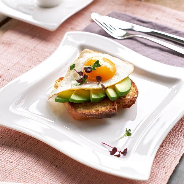 NewWave vierkant ontbijtbord, , large