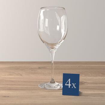 Maxima rode wijnglas, 4 stuks