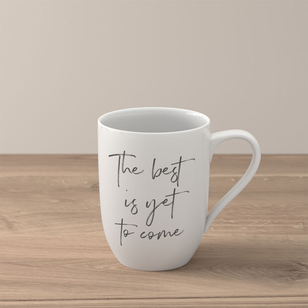 """Statement beker """"The best is yet to come"""", , large"""
