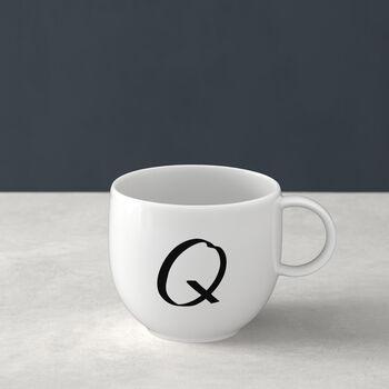 Mug Letters Q 13x10x8cm