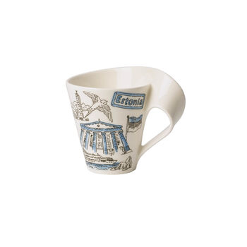 Cities of the World mug à café Estonie