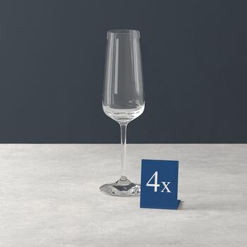Ovid champagneglas set van 4
