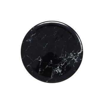 Marmory Ontbijtbord black 21 x 21 x 1,5cm