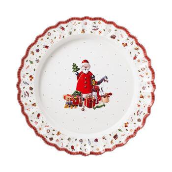 Toy's Delight plat de service, multicolore/rouge/blanc, 45cm